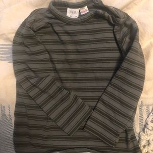 Zara toddler boy stripe tee, 2-3 years